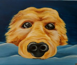 Puppy Love Canvas Painting Class @ Creative Canvas and Board | La Crosse | Wisconsin | United States