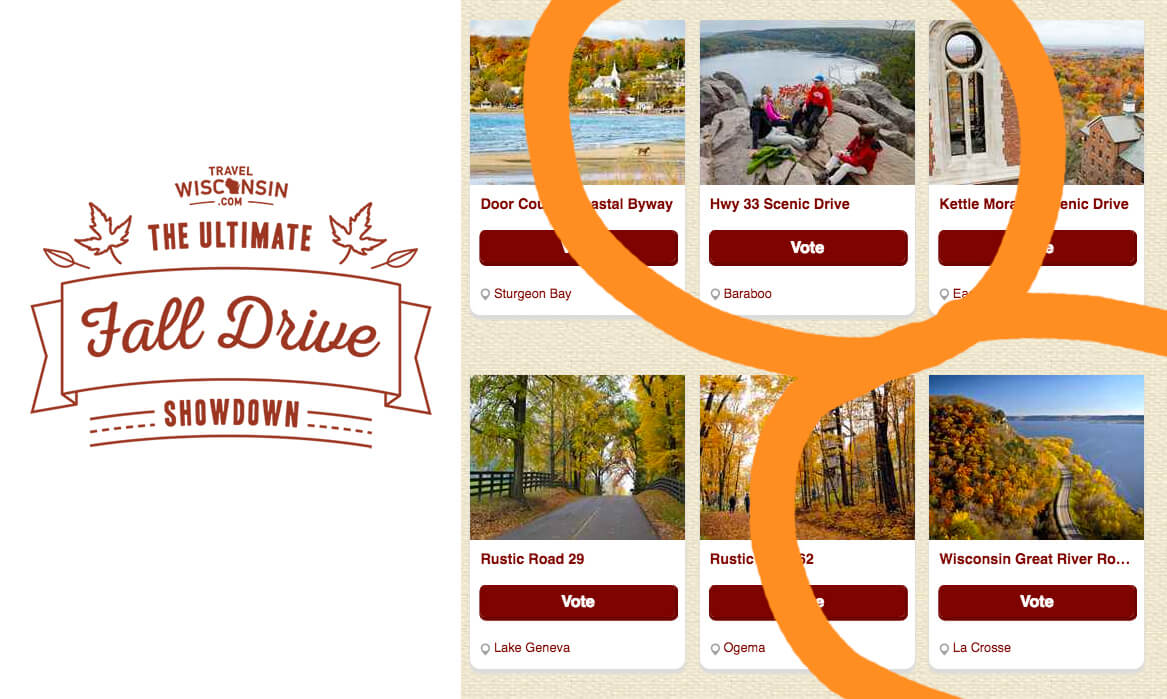 Travel Wisconsin Ultimate Fall Drive Showdown