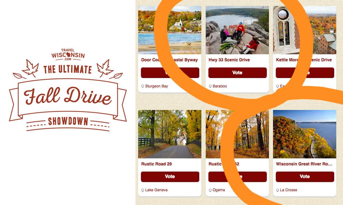 Travel Wisconsin Ultimate Fall Drive Showdown