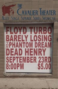 The Cavalier Theater Alley Stage Summer Series @ Cavalier Theater Alley Stage | | |