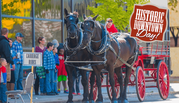 Get ready for Historic Downtown Day! Next Saturday, October 14th