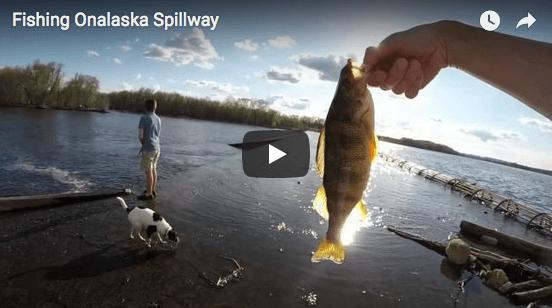 Fishing Onalaska Spillway (Video)