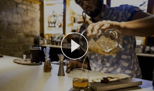Old Fashioned at La Cave (Video)