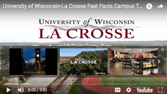University Of Wisconsin La Crosse Campus Tour Video Explore La
