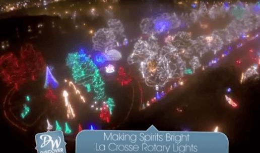 La Crosse Rotary Lights Holiday Display (Video)