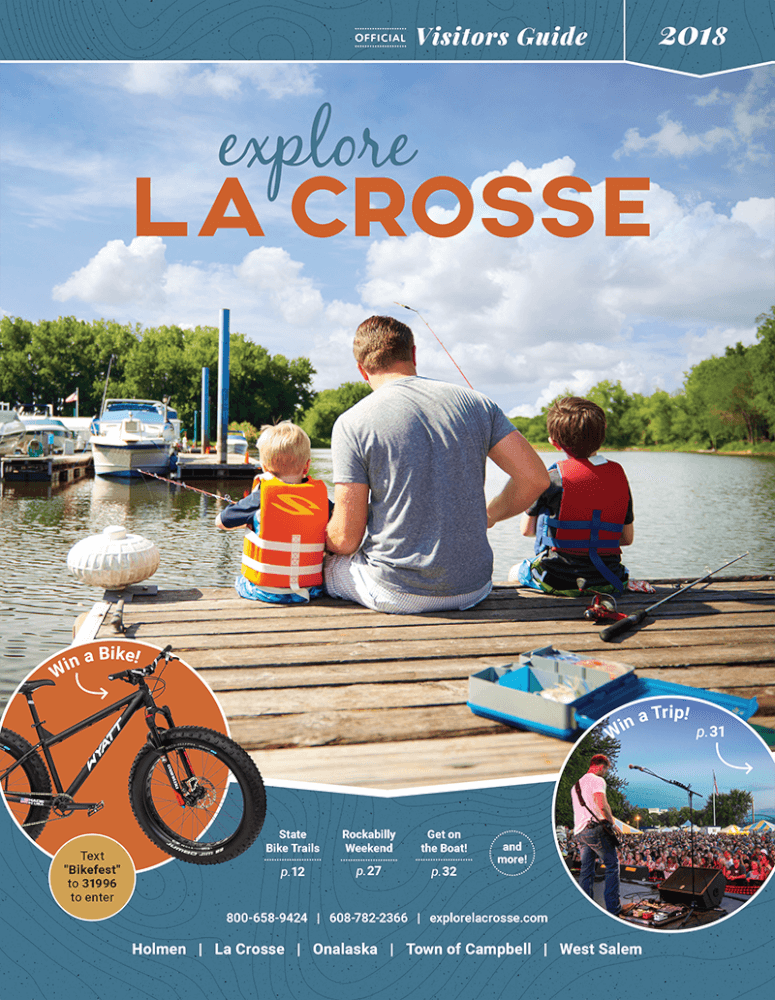 Official La Crosse Are Visitor Guide.