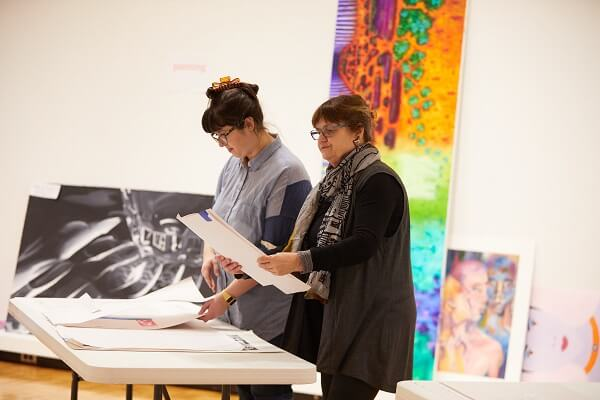 Student artwork to fill the University Art Gallery