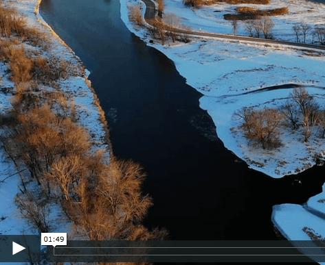 Winter Season of La Crosse County (Video)