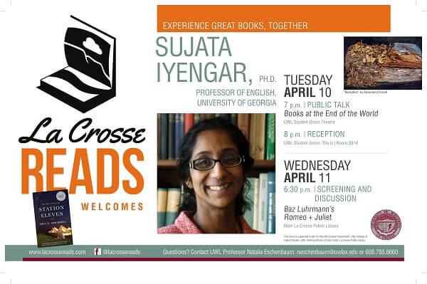 La Crosse Reads: Author, Professor Sets La Crosse Visits