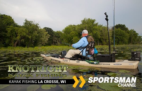 Knot Right Kayak Fishing on the Mississippi with Chad Hoover