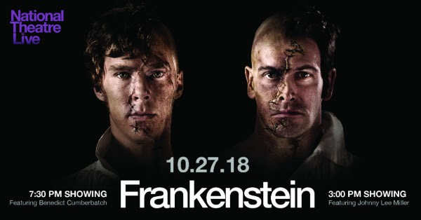 Weber Center Presents National Theatre Live – Frankenstein