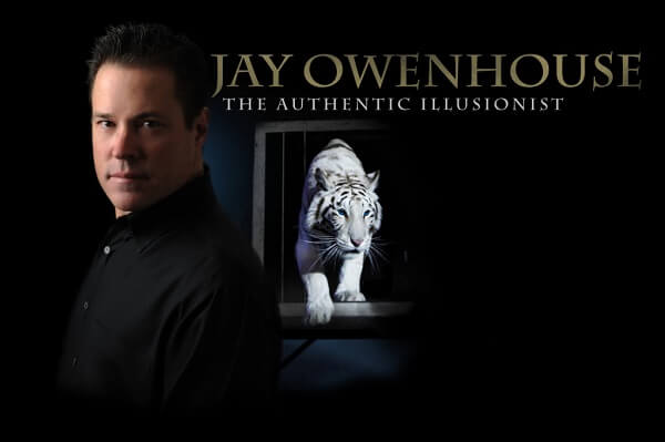 "Jay Owenhouse ""The Authentic Illusionist"" at the Weber Center"