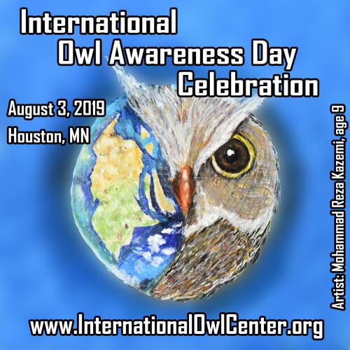 International Owl Awareness Day Celebration August 3
