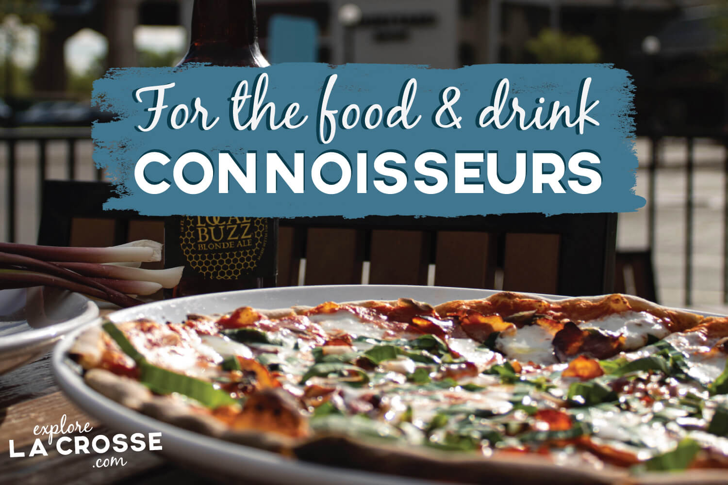 FOR THE FOOD & DRINK CONNOISSEURS