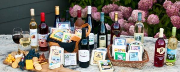 Driftless Wisconsin Wine and Cheese Trail